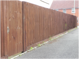 oakwood gardening services offer a range of fencing including repairs and treating